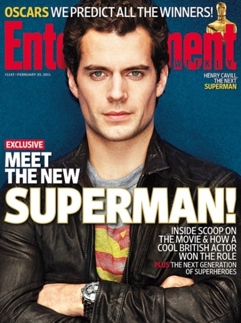 Henry Cavill is Supes